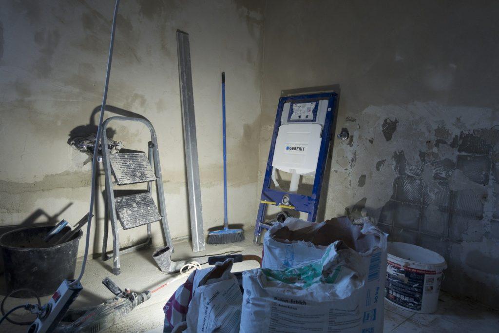 Usuwanie wilgoci budowlanej, początkowej, osuszanie tynków wewnętrznych, gipsowych, cementowo-wapiennych - osuszanie po budowie